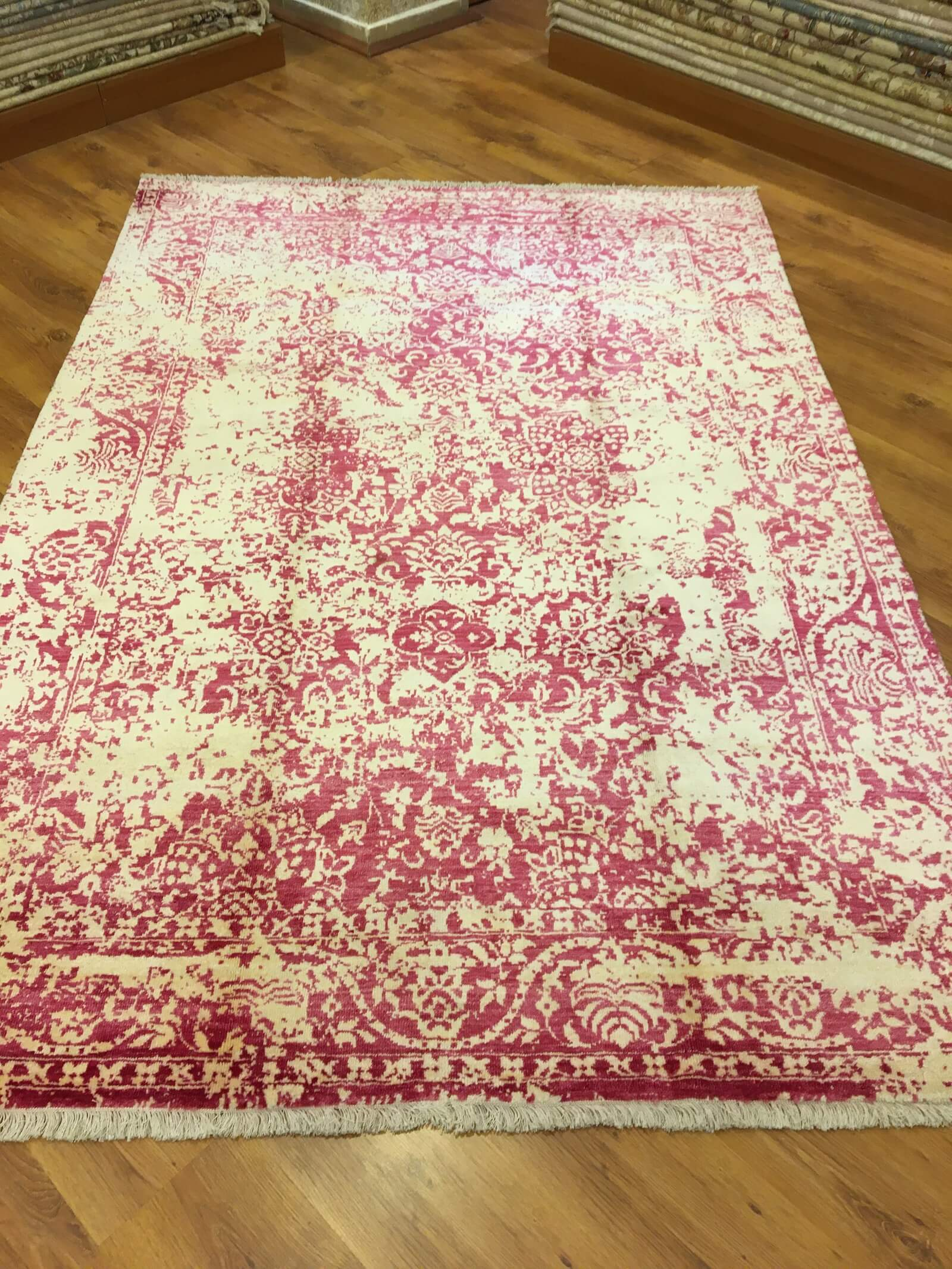 COLOUR ME BAMBU HALI 168X242 Colour Me Bambu El Dokuma Halı