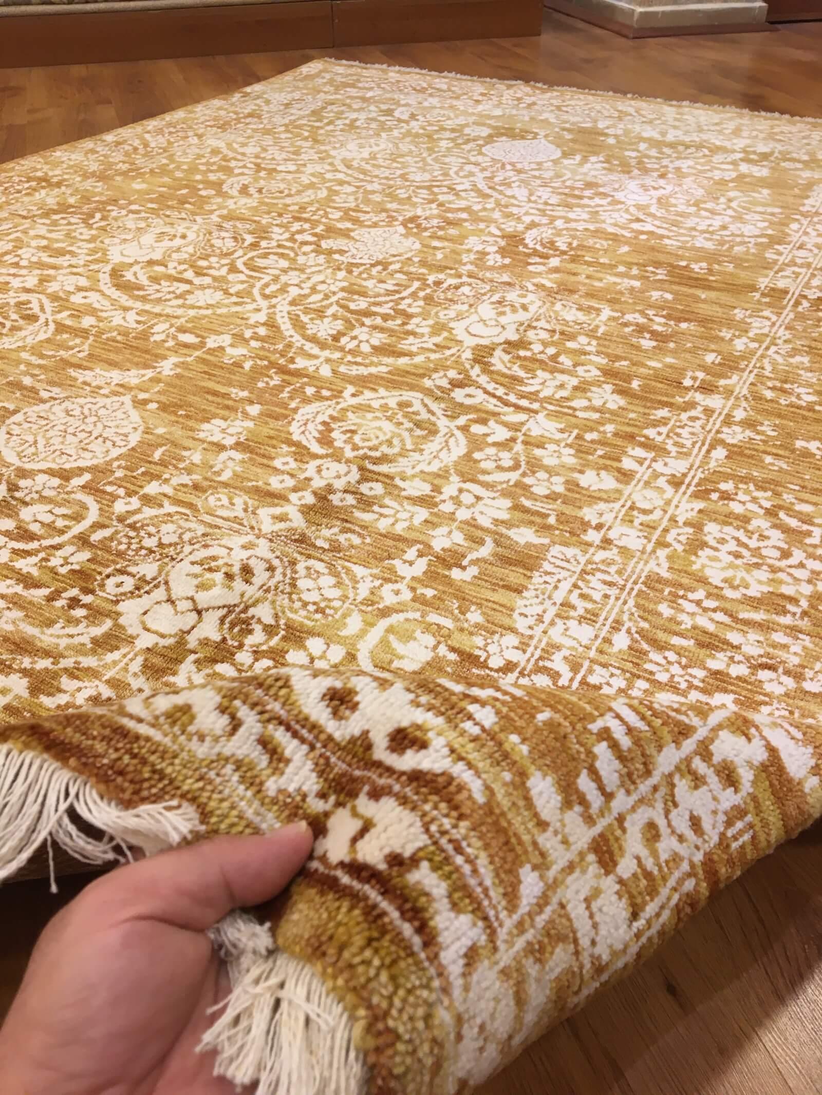 COLOUR ME BAMBU HALI 173X241 Bambu Bambu El Dokuma Halı