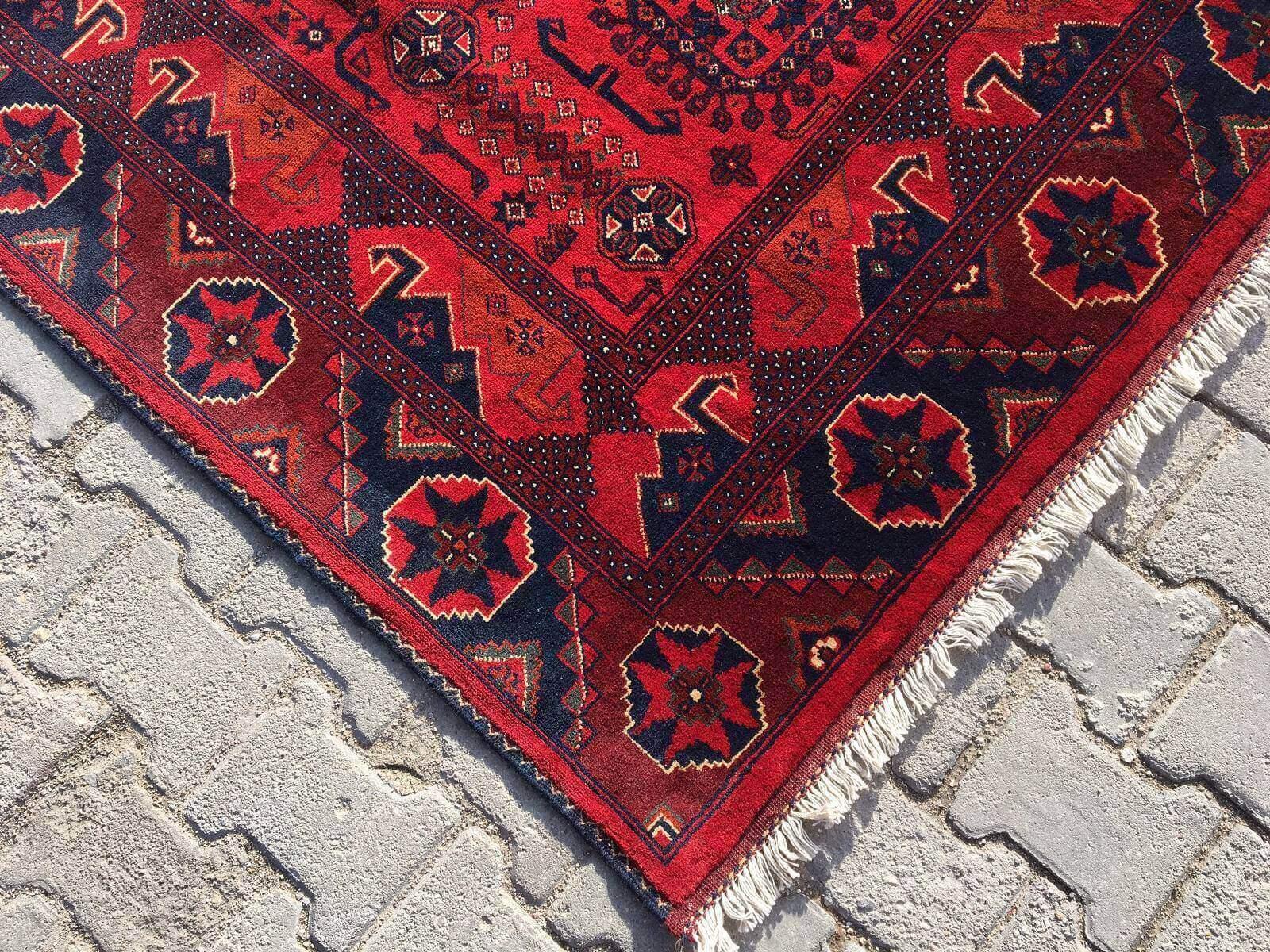 AFGAN KUNDUZ HALISI 148X206 Kunduz Afgan Halı