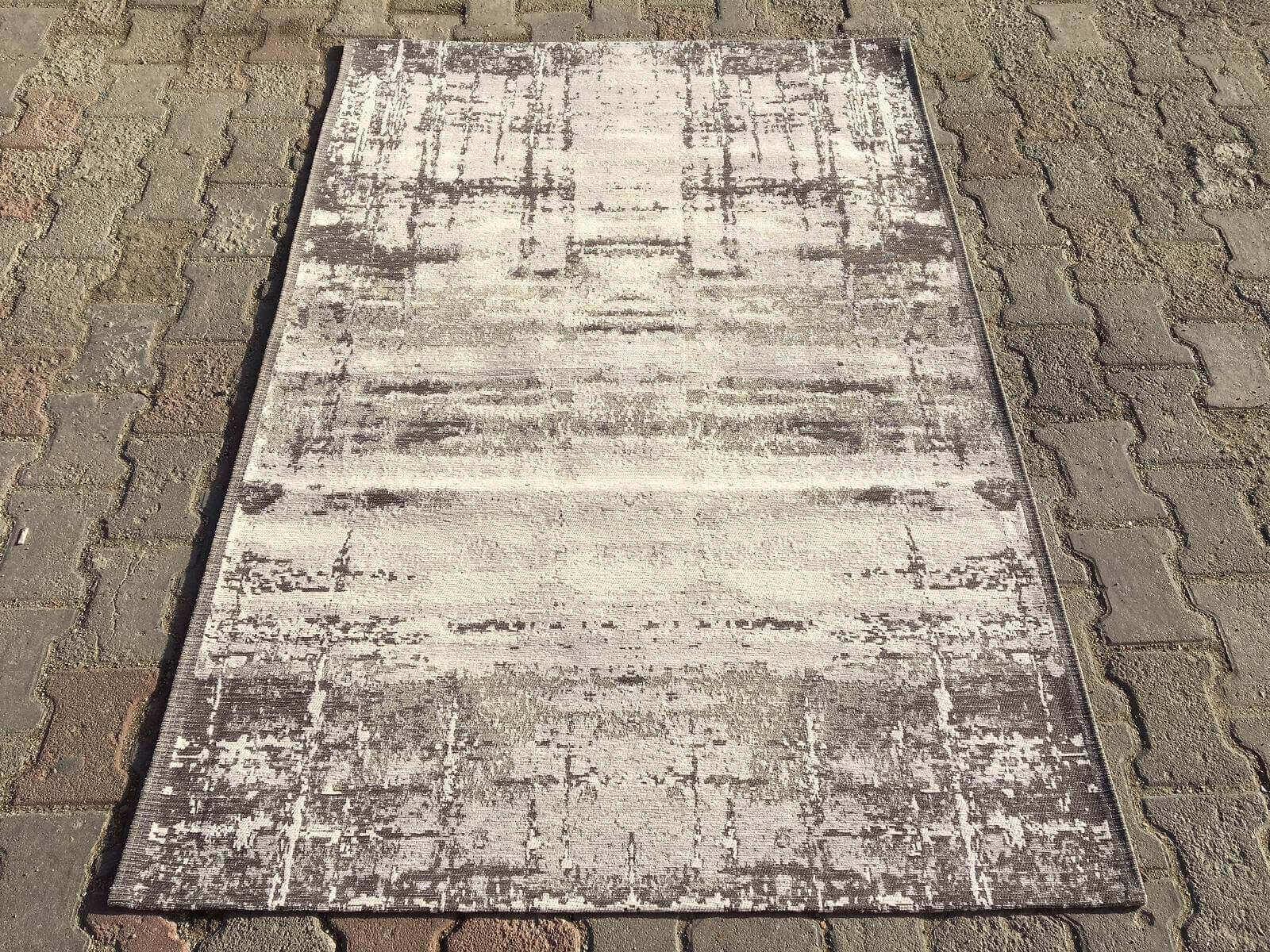 COTTON LÜX KİLİM GRİ 120X180 Cotton Lux Kilim Dekoratif Kilim