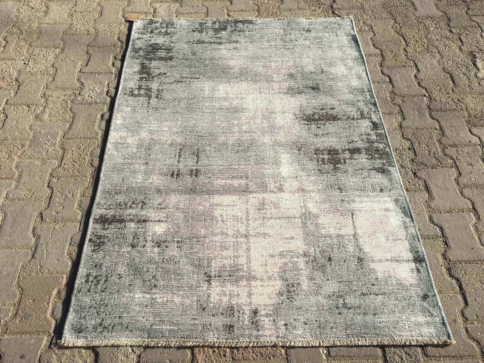 COTTON LÜX KİLİM GRİ ANTRASİT 120X180 Cotton Lux Kilim Dekoratif Kilim