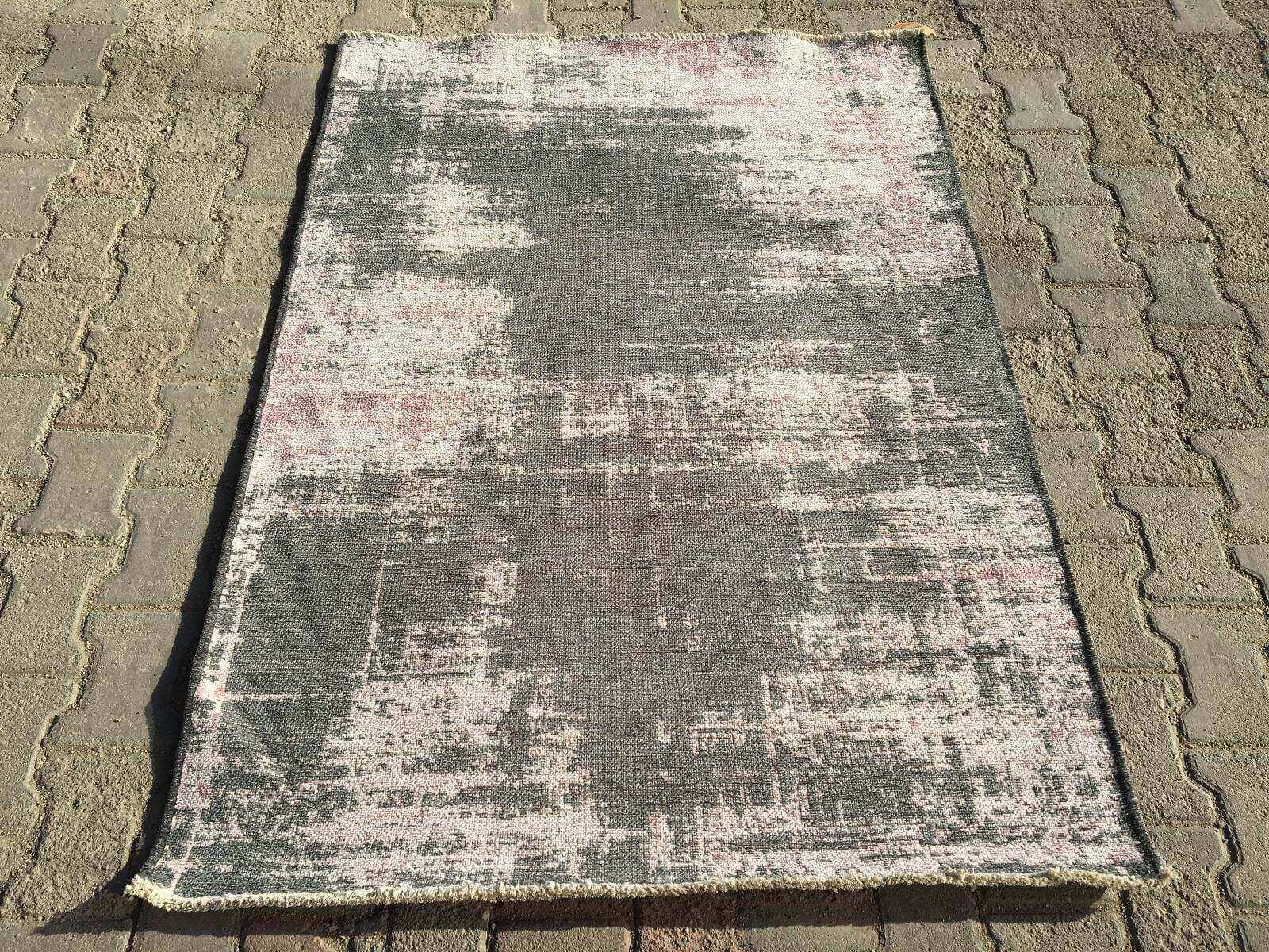 COTTON LÜX KİLİM GRİ LİLA 120X180 Cotton Lux Kilim Dekoratif Kilim