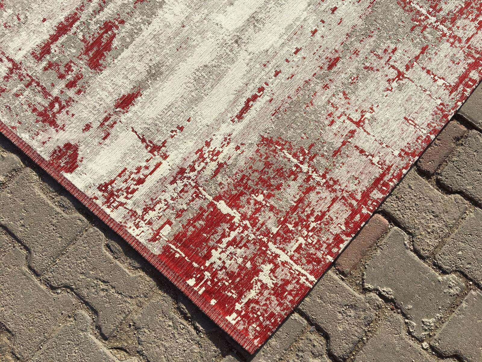 COTTON LÜX KİLİM KIRMIZI 120X180 Cotton Lux Kilim Dekoratif Kilim