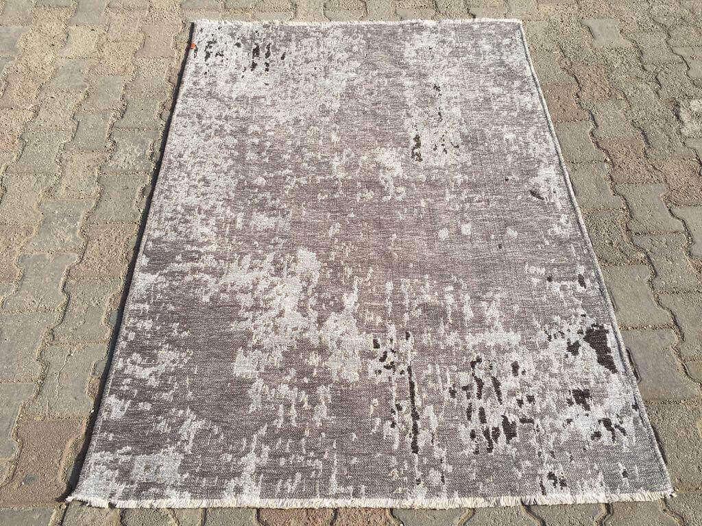VİNTAGE KİLİM K.GRİ A.GRİ 10407A Mutfak Kilim Dekoratif Kilim