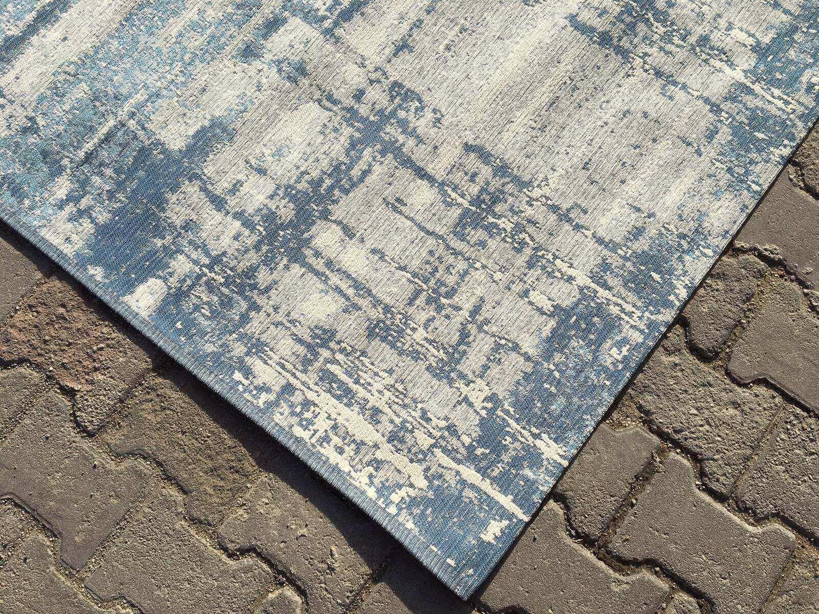 COTTON LÜX KİLİM MAVİ 120X180 Cotton Lux Kilim Dekoratif Kilim