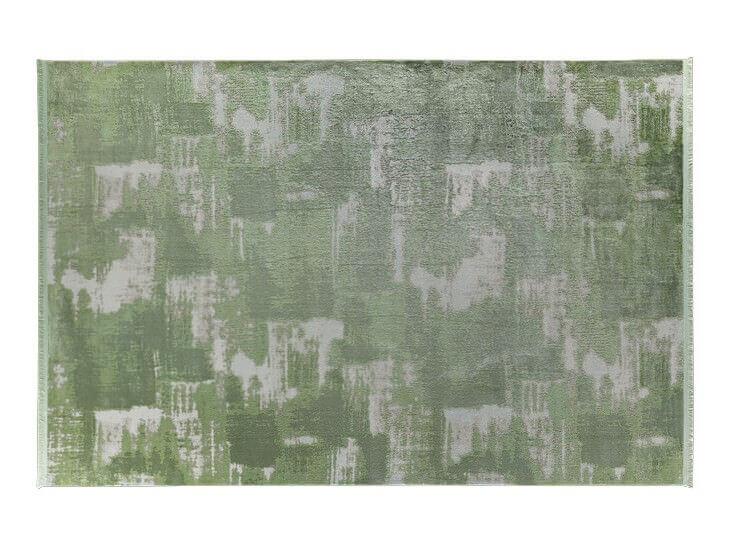 KOYUNLU HALI İPEK 02 YEŞİL Koyunlu Halı Bambu Halı
