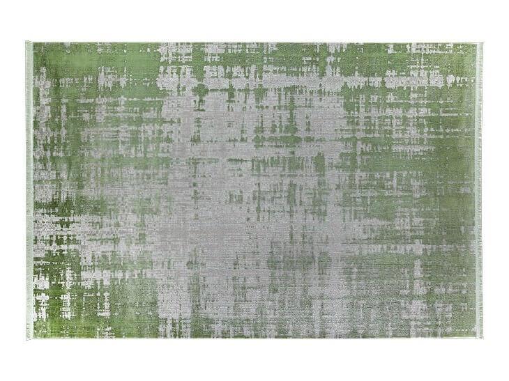 KOYUNLU HALI İPEK 07 YEŞİL Koyunlu Halı Bambu Halı