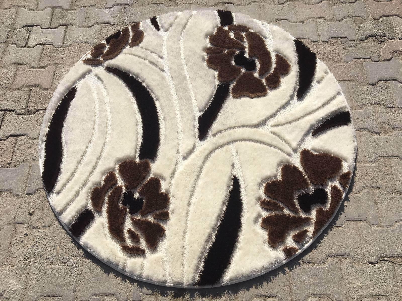 YUVARLAK SHAGGY HALI 150X150 249 TL İndirimli Halı