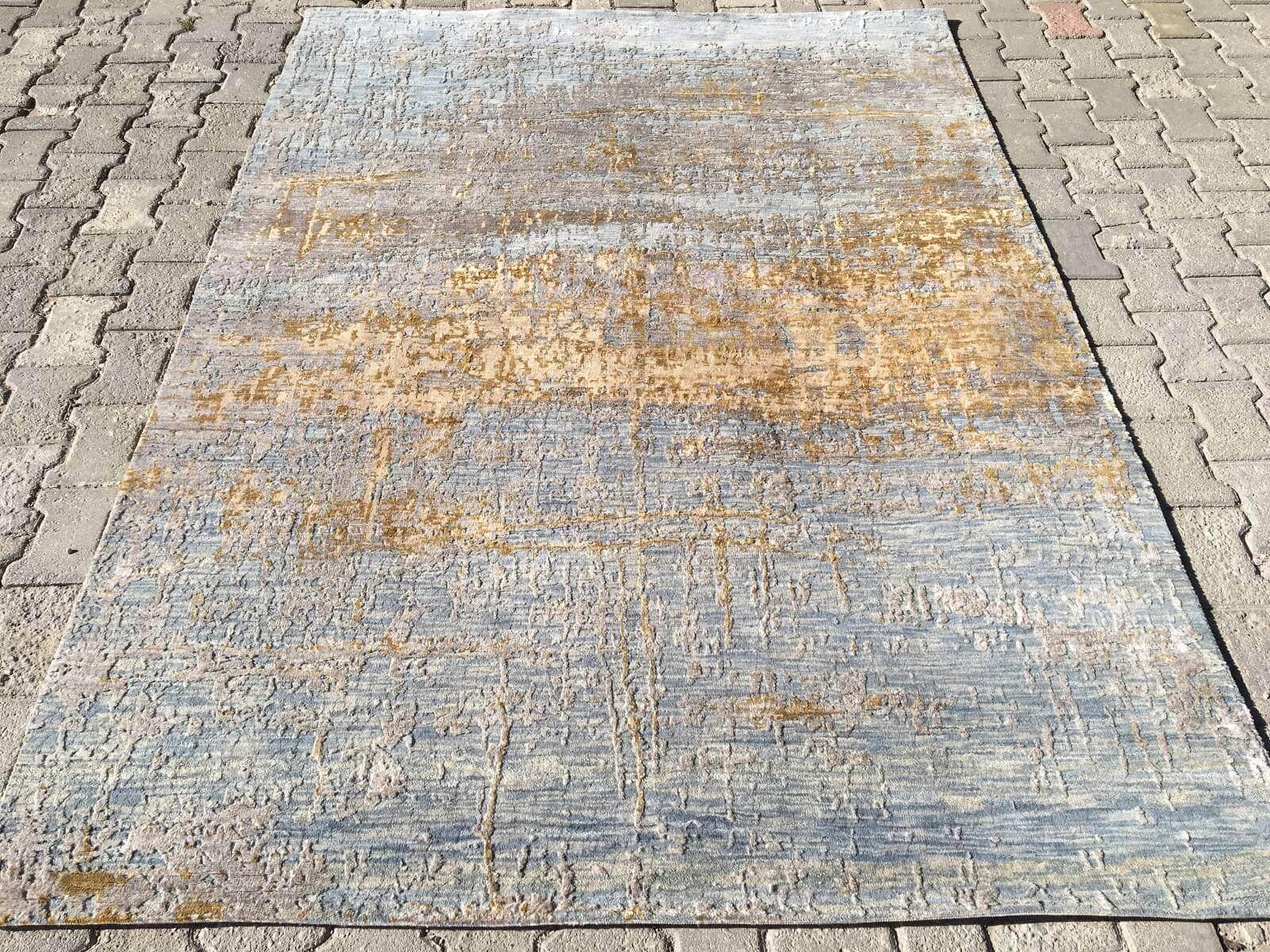 ILLUSION BAMBU EL DOKUMA HALI 175X243 İllusion Bambu El Dokuma Halı