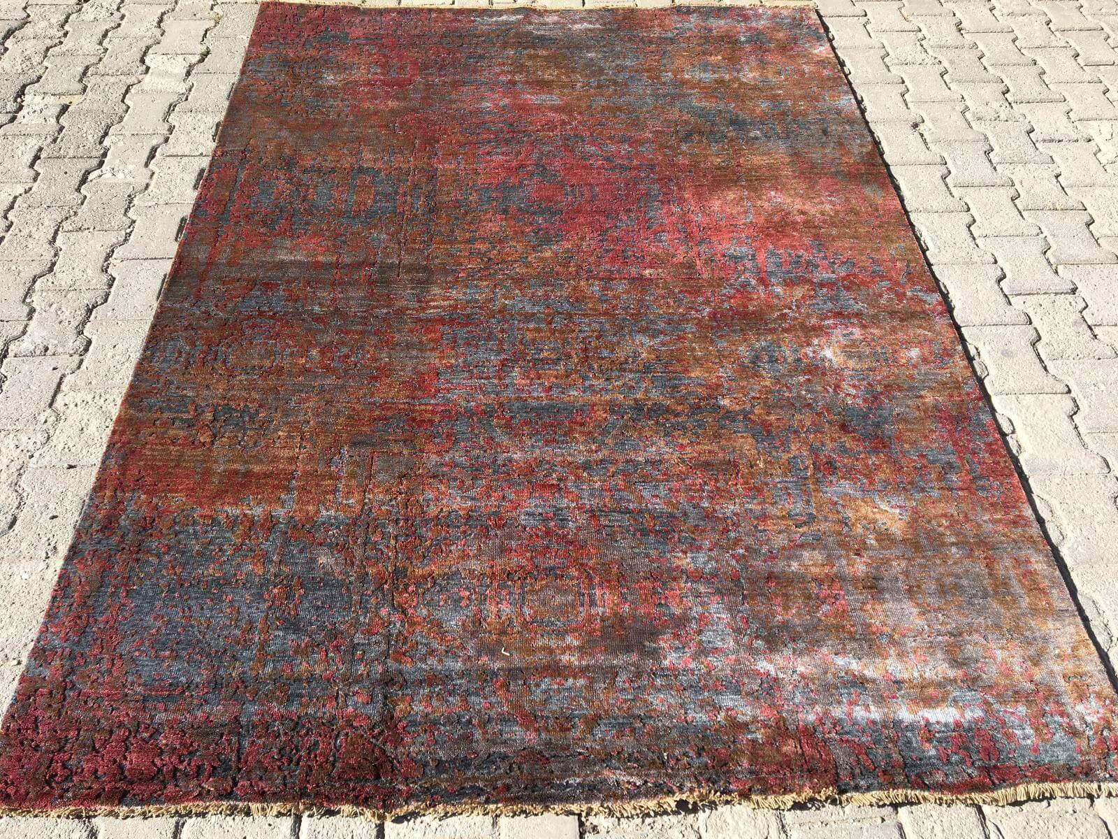 ILLUSION BAMBU EL DOKUMA HALI 173X245 İllusion Bambu El Dokuma Halı