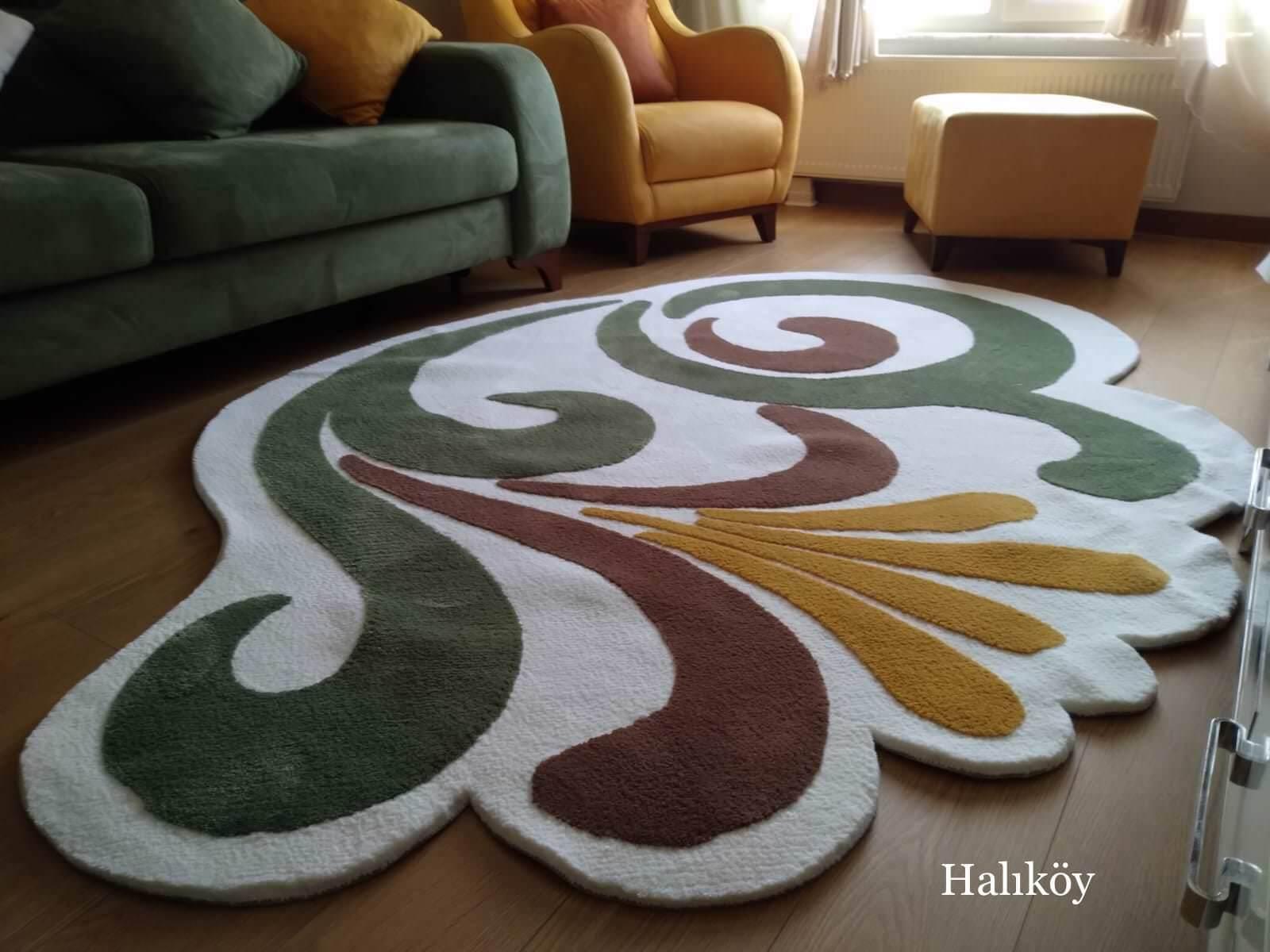 STUDİO TASARIM HALI 140×200 Özel Tasarım Halılar Kişiye Özel Halı