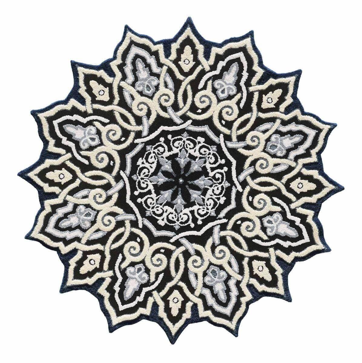 STUDİO TASARIM HALI 160×160 Özel Tasarım Halılar Butik Halı