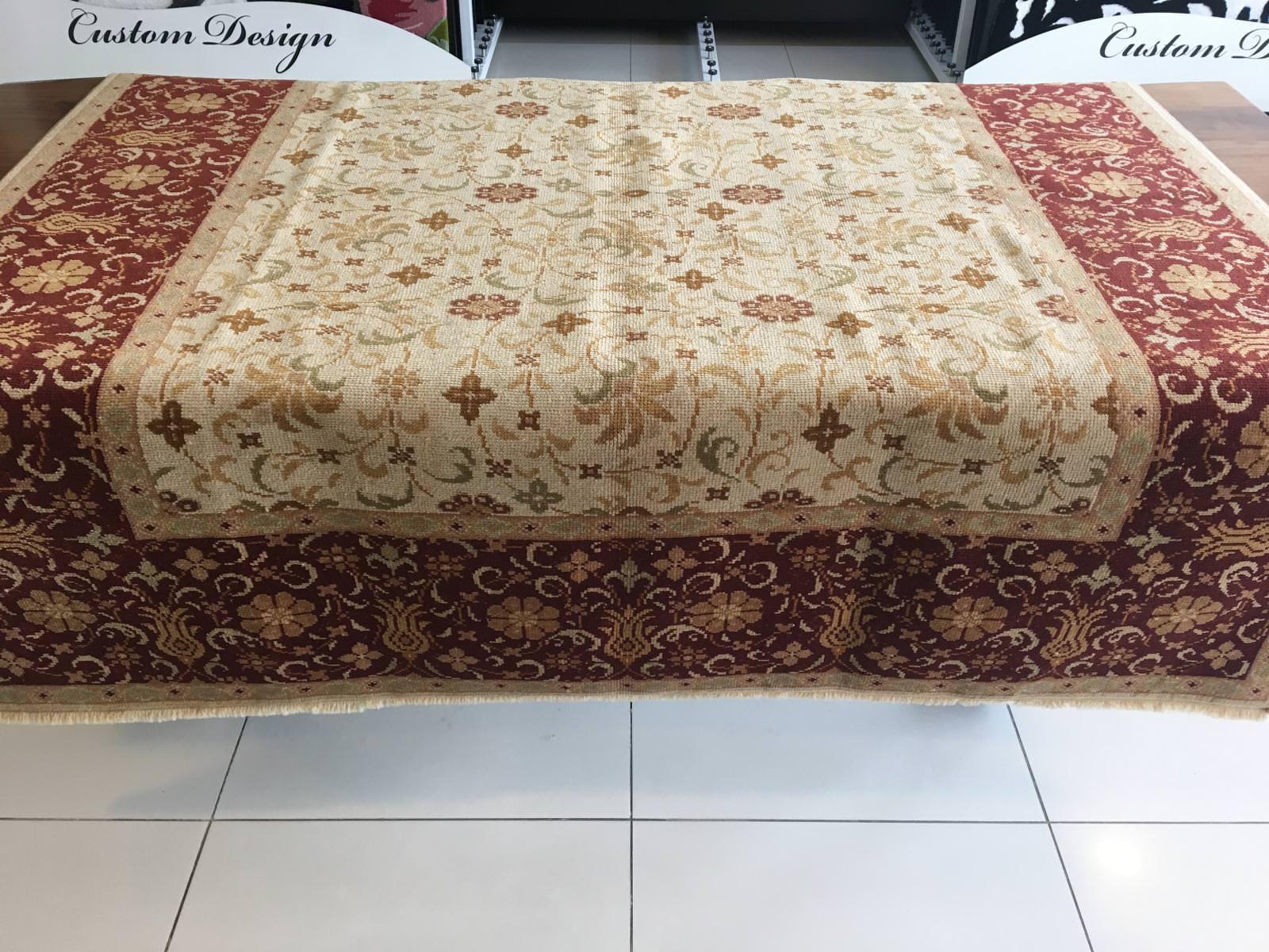OTTOMAN UŞAK HALISI 167X249 Ottoman El Dokuma Halı