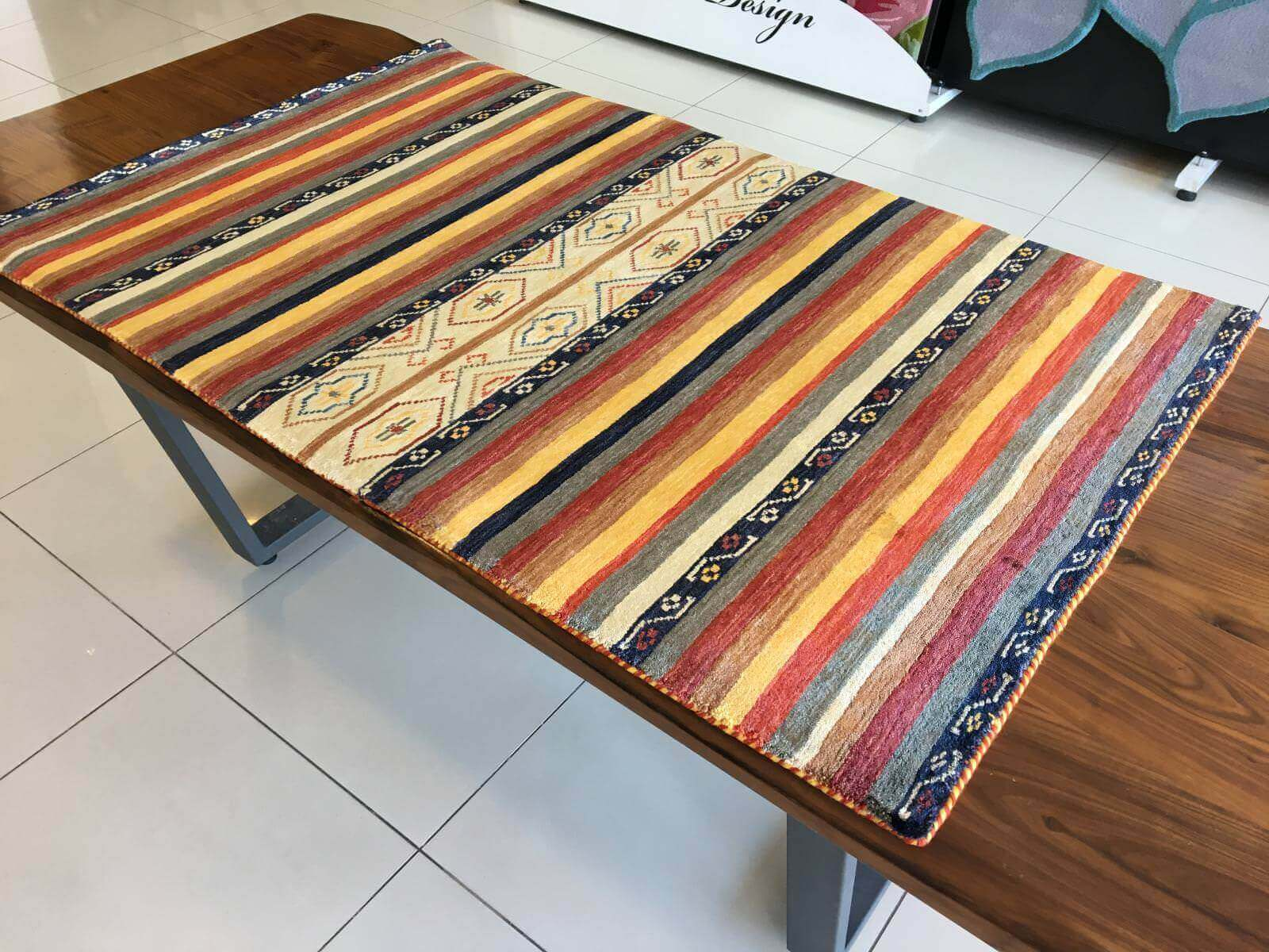 TRIBAL 89X142 Tribal El Dokuma Halı