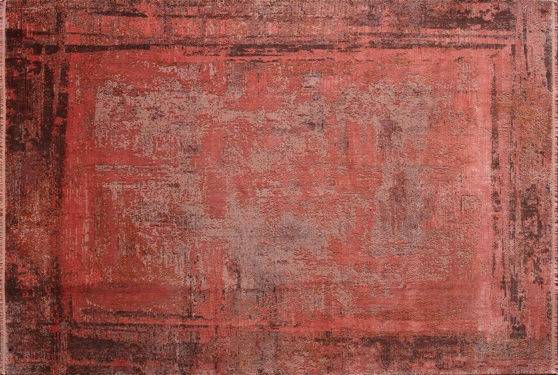 WOOLKNOT HALI CRAFT OVERDYE 340 RED Craft Overdye Bambu Halı