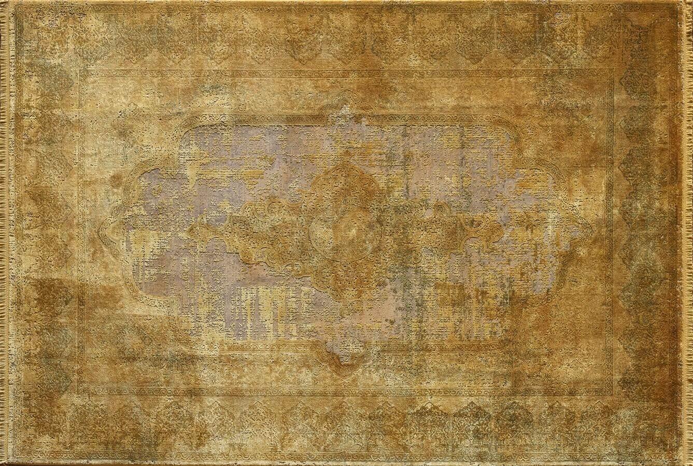 WOOLKNOT HALI CRAFT OVERDYE 110 GOLD Craft Overdye Bambu Halı