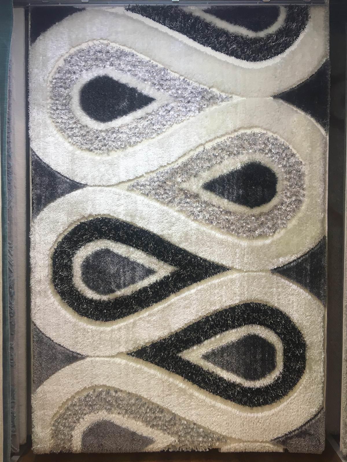 SARAY HALI FULYA SHAGGY HALI 1983B – 150X230 4 m2 - 349 TL İndirimli Halı