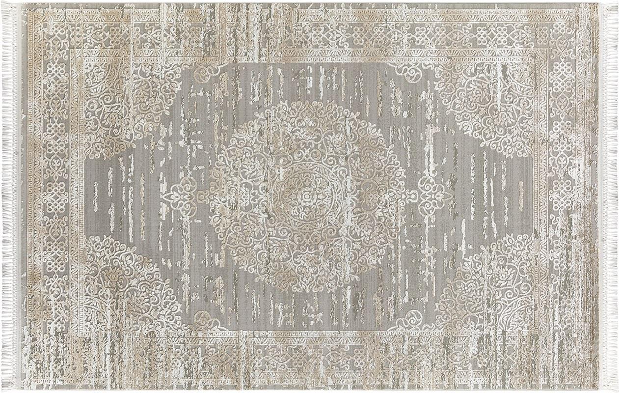 FLORA HALI İNCİ 1583A GREJ Flora Halı İnci Flora Halı Fiyatları
