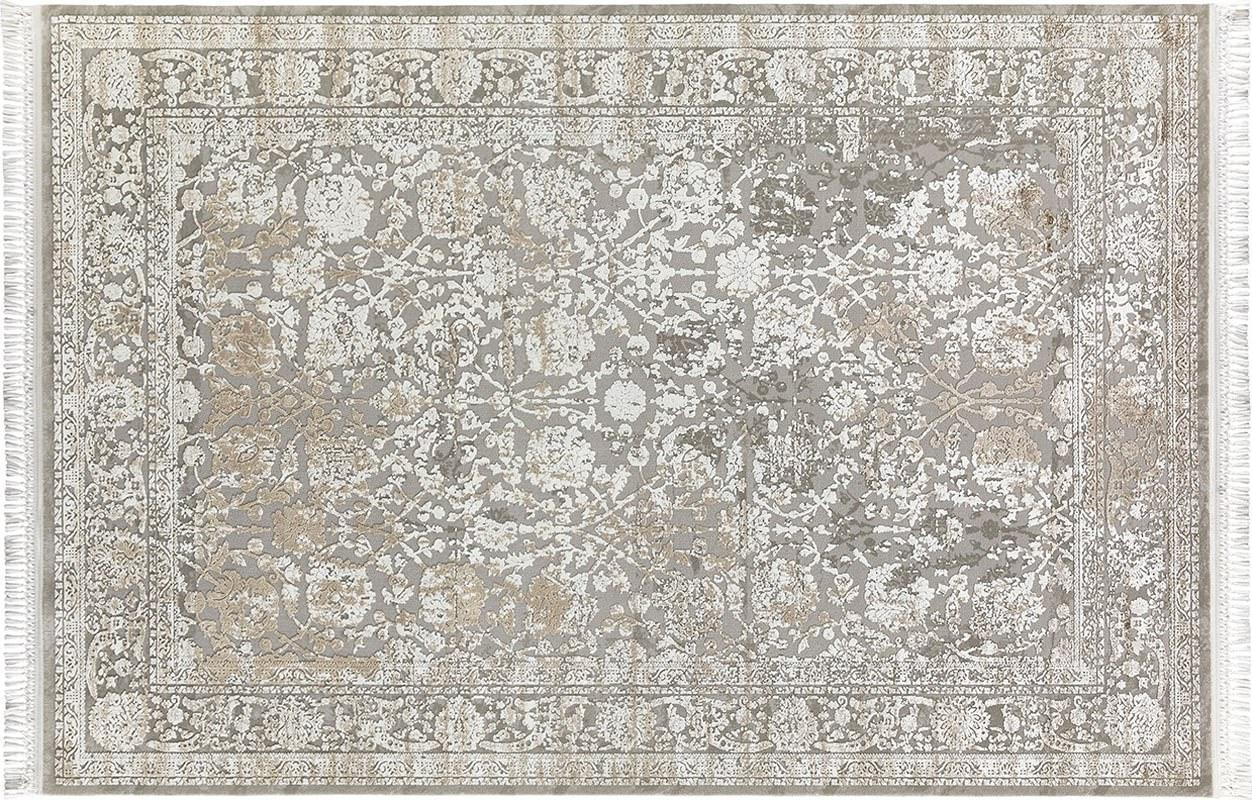 FLORA HALI İNCİ 1584A GREJ Flora Halı İnci Flora Halı Fiyatları