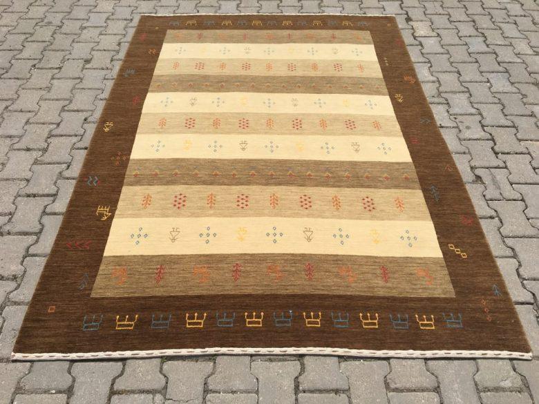 TRIBAL 175X242 Tribal El Dokuma Halı
