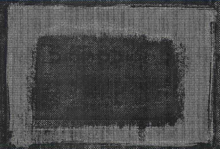 WOOLKNOT HALI BLACK M231H Black Bambu Halı