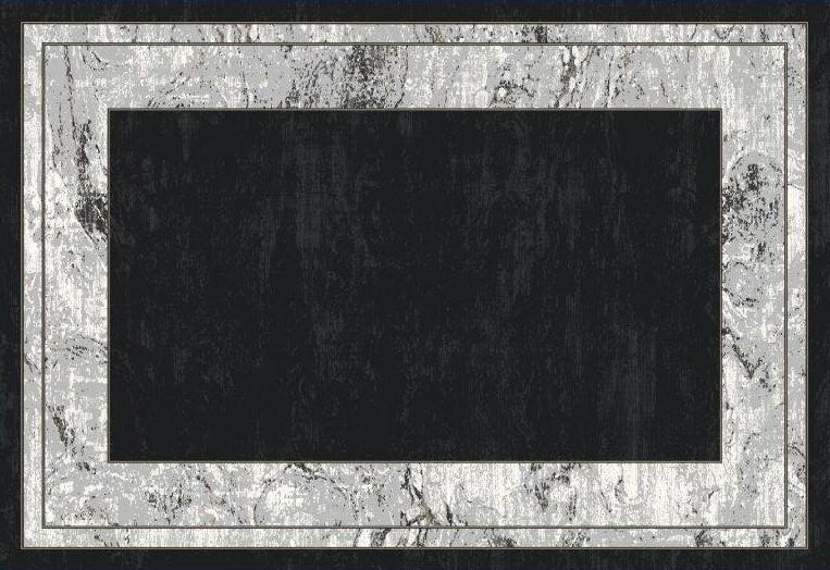 WOOLKNOT HALI BLACK M234H Black Bambu Halı