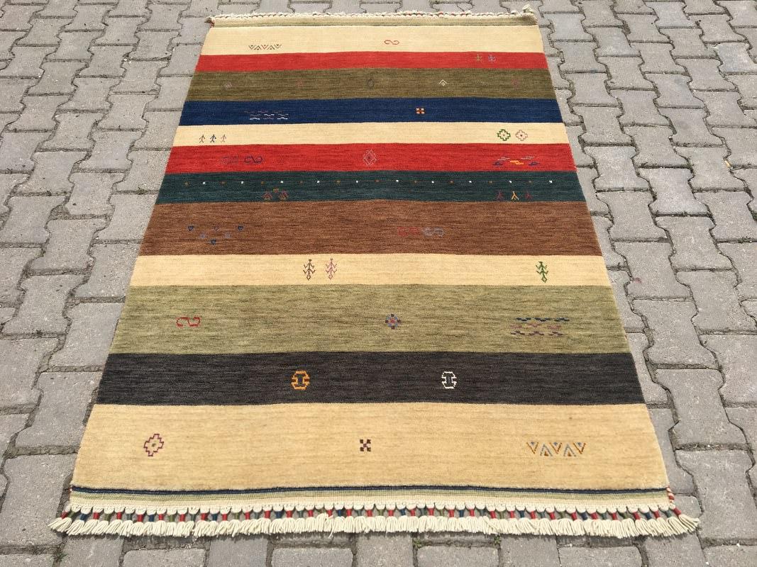 TRIBAL 126X184 Tribal El Dokuma Halı