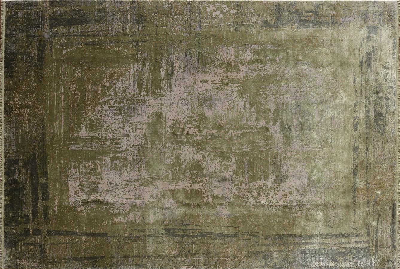 WOOLKNOT HALI OVERDYE GREEN 409 Woolknot Halı Bambu Halı