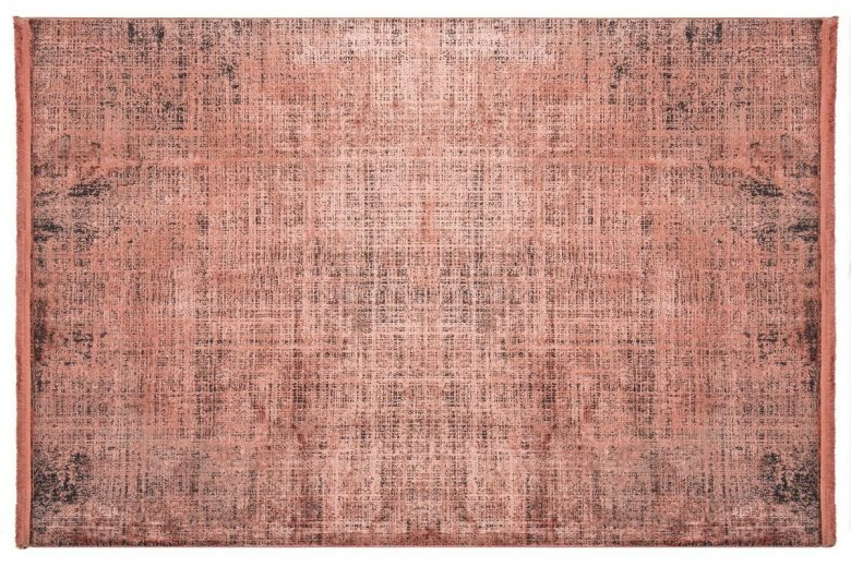 WOOLKNOT HALI COLORE B008B RED Woolknot Halı Bambu Halı