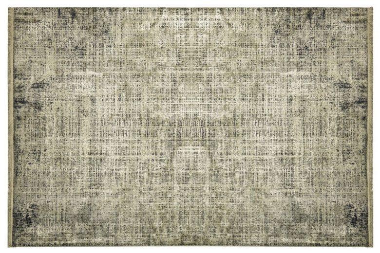 WOOLKNOT HALI COLORE B008B GREEN Woolknot Halı Bambu Halı