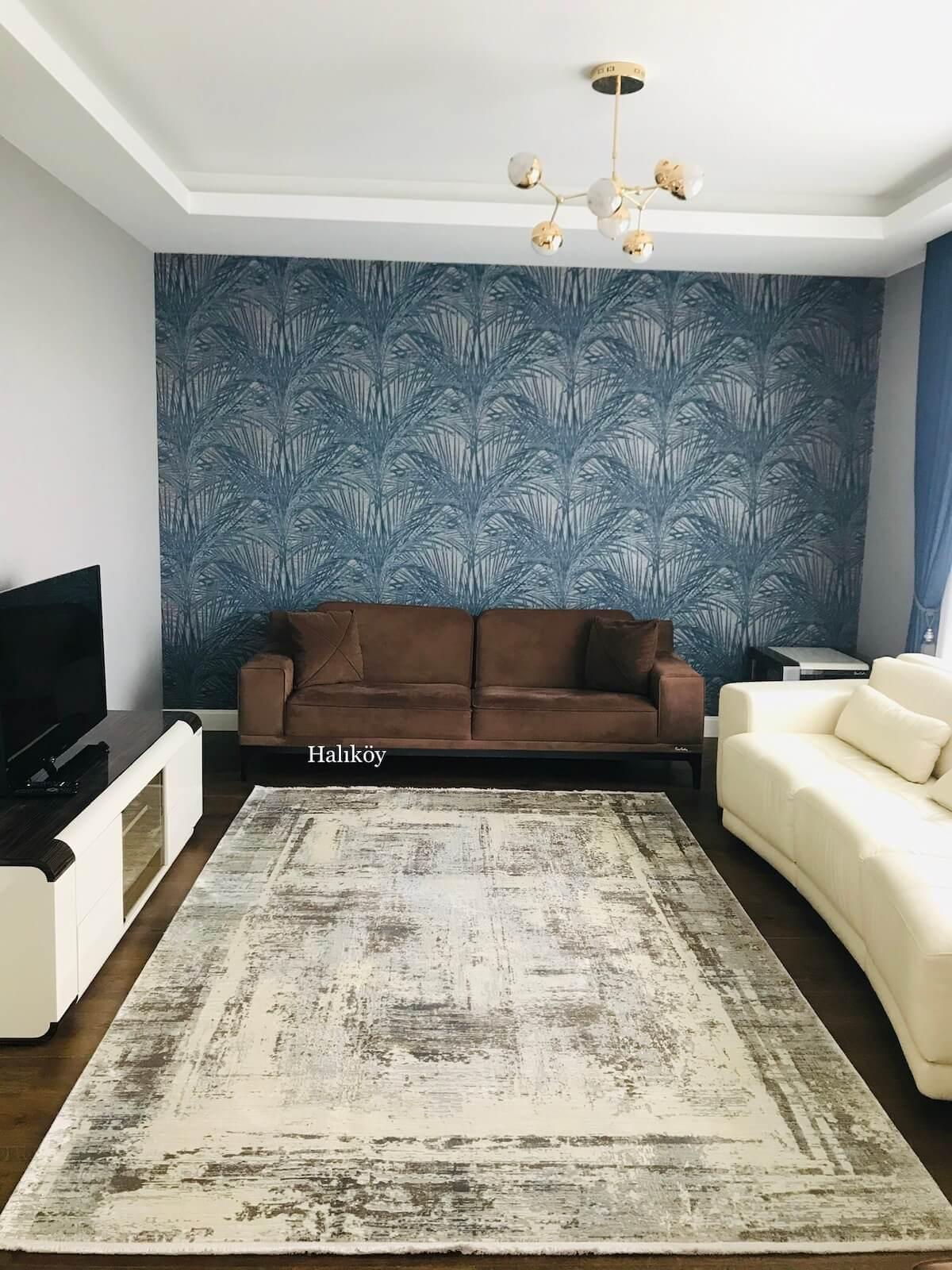 WOOLKNOT HALI CRAFT MT177 Woolknot Halı Bambu Halı