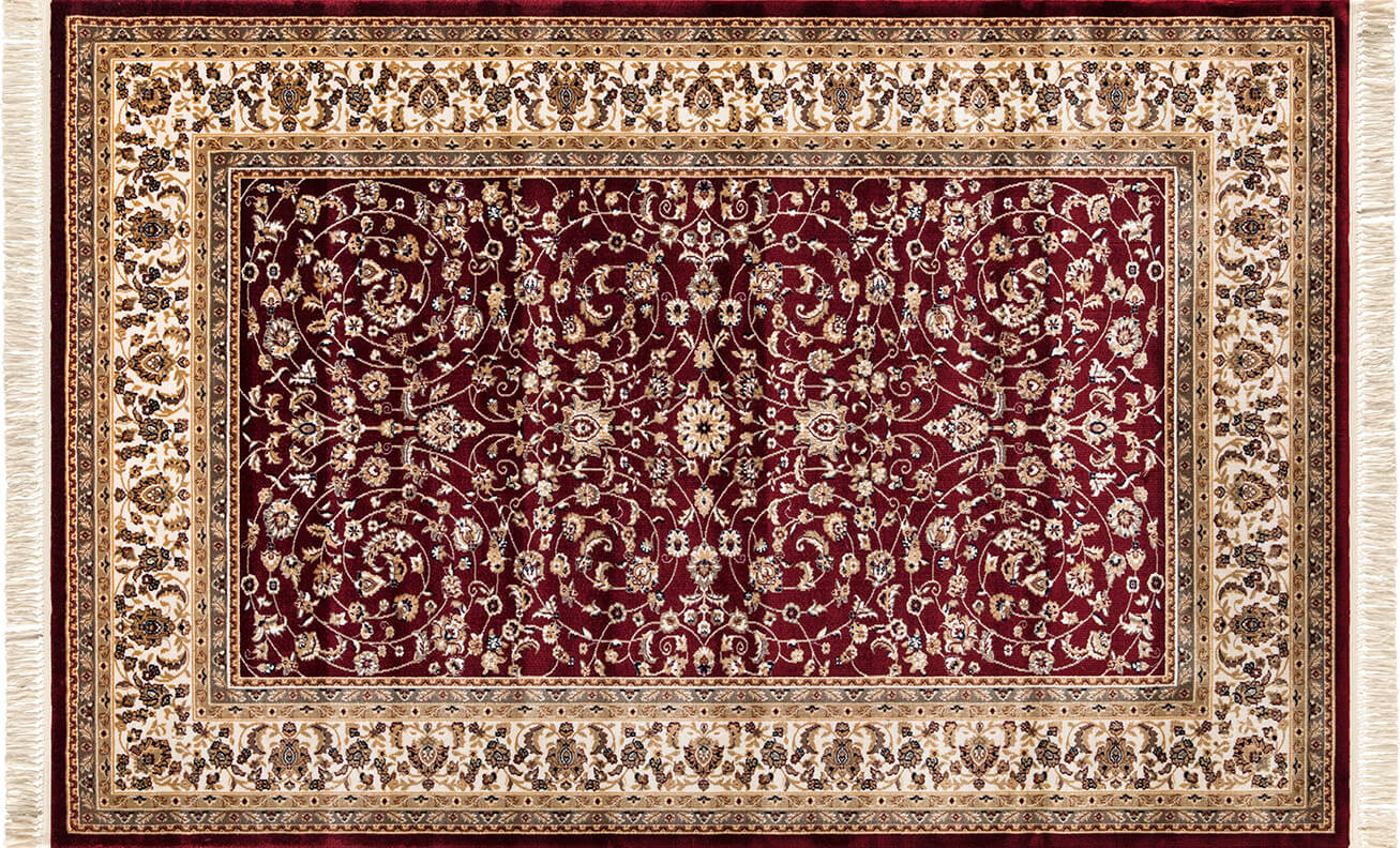 FLORA HALI NOSTALJİ 1760A BORDO Flora Halı Flora Halı Fiyatları