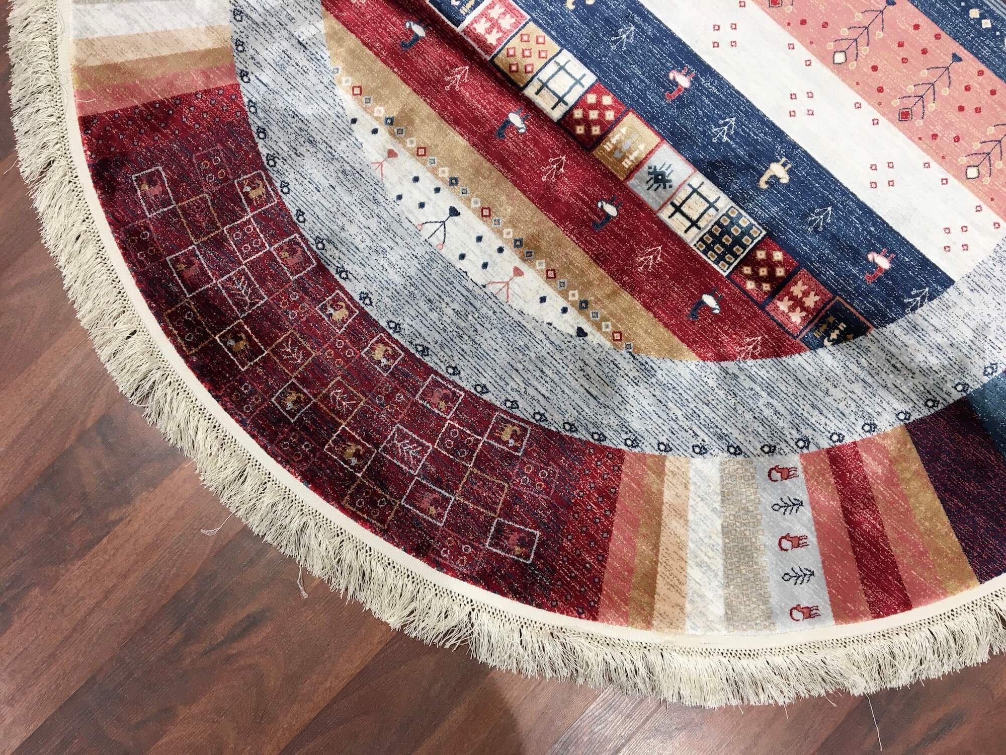 QUALİTY CARPET ELHAMRA YUVARLAK 17191A Quality Carpet Bambu Halı