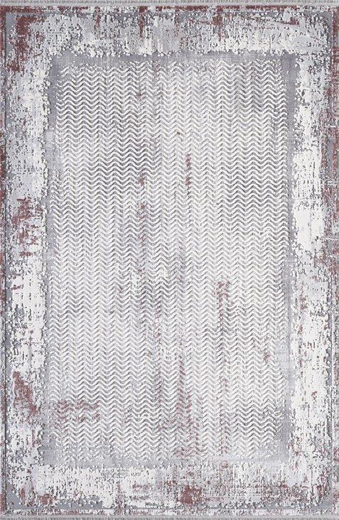 ARTEMİS HALI DİOR 5857C VİŞNE GRİ Artemis Halı Artemis Halı Fiyatları