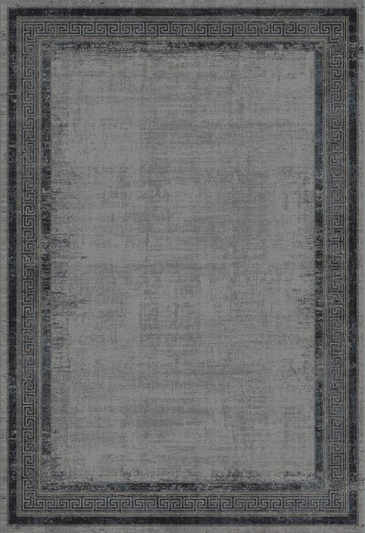 WOOLKNOT HALI BLACK M235L Woolknot Halı Bambu Halı