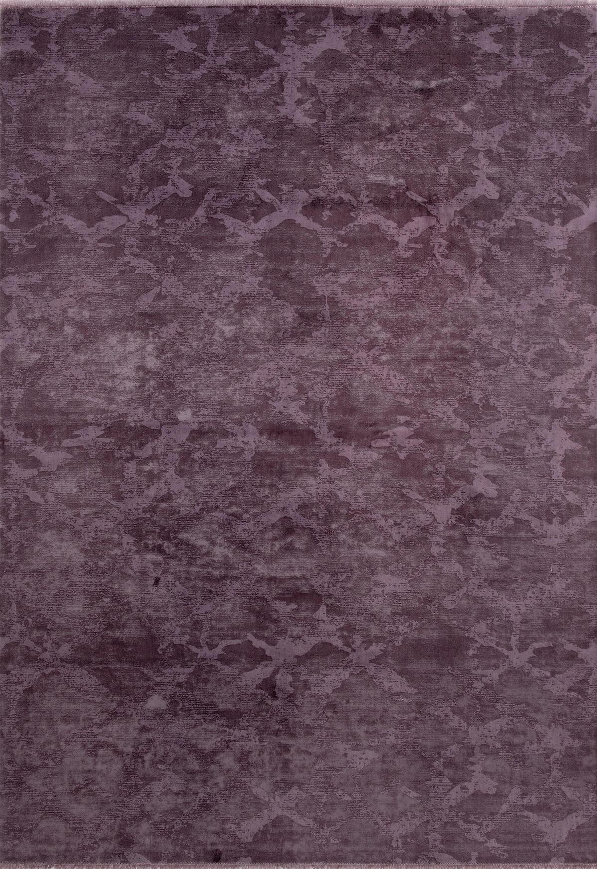 KADİFE KİLİM 5303 MOR Kadife Kilim Dekoratif Kilim